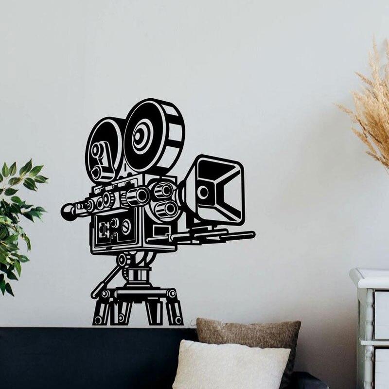 Wall Decal Cinema Video Film Decor Gift
