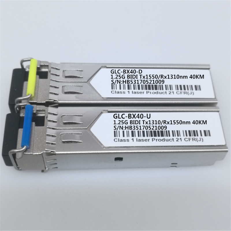 Image 2 - 1Pair SFP BIDI Optical Transceiver Module 1000BASE BX Optical Module SM For GLC BX40 D/U 40km LC DDM Optical Transceiver Module-in Fiber Optic Equipments from Cellphones & Telecommunications