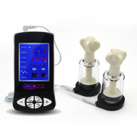 Electro shock climax borst zuigpomp elektrische stimulatie mimi sucker tepel pompen borsten electro stimulator massage
