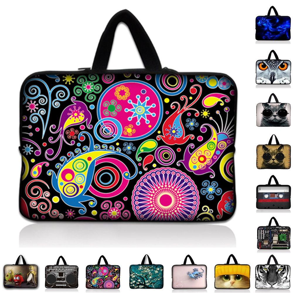 7.9 9.7 10.1 11.6 13 13.3 14 14.4 15 15.4 15.6 inch laptop bag sleeve case Tablet cover for macbook air pro For HP Asus Acer #E