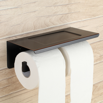 Oil Rubbed Bronze Stainless steel Toilet Paper Holder,Paper Tissue Holder Wall Mount Bathroom Accessories