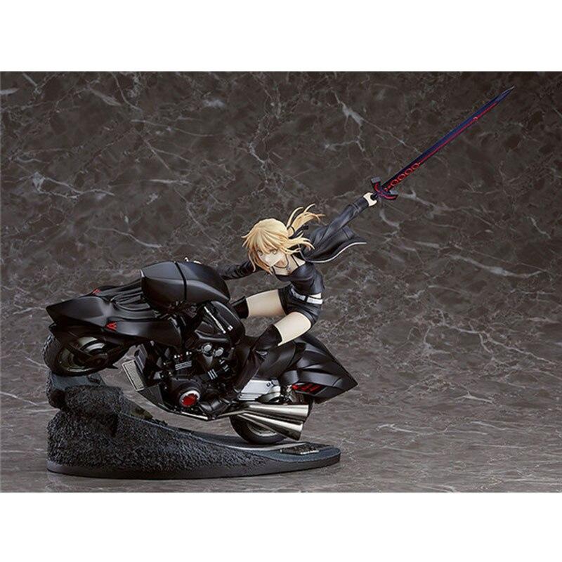 Destin Grand ordre moto Arutoria Pendoragon destin le saint graal guerre destin rester nuit PVC figurine à collectionner modèle jouet
