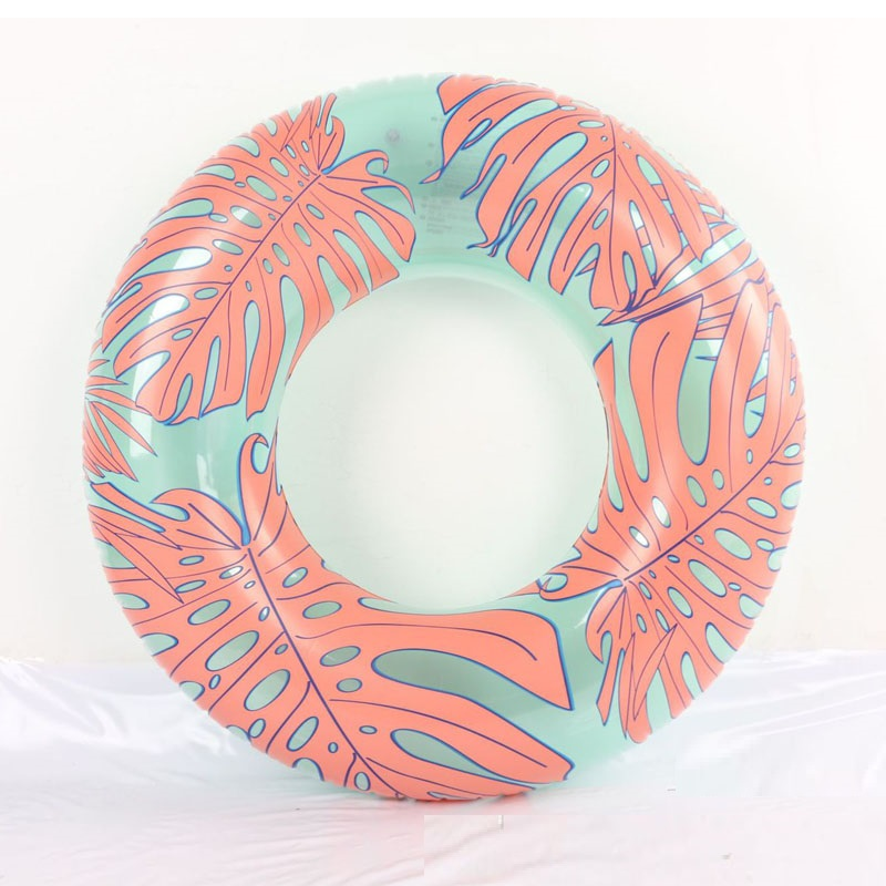 Swimming Accessories Smart Tropical Palm Leaves Pool Tube 118cm Giant Swimming Ring Water Float For Adult Summer Ourdoor Inflatable Toys Air Mattress Boia With The Most Up-To-Date Equipment And Techniques Swimming