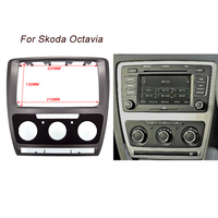 CT CARID High Quality Car Refitting DVD Panel Dash Kit Audio Frame Radio Fascia For Skoda