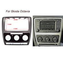 ITYAGUY Alta Qualità Car Refitting DVD Plancia Audio Kit telaio Radio Fascia Per Skoda Octavia (2010 ~ 2013) Auto/Manuale A/C