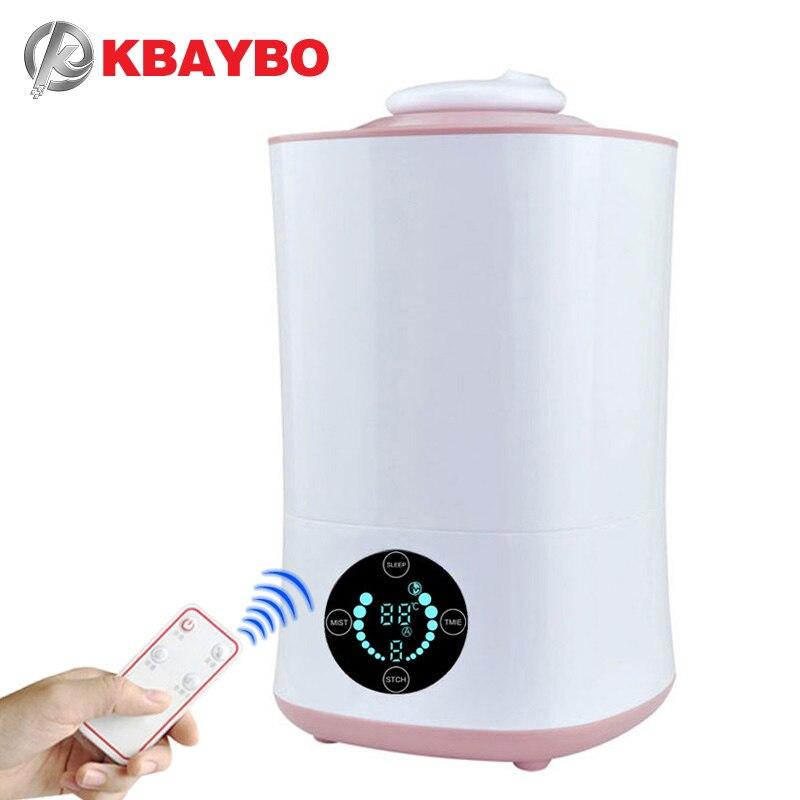 все цены на New Aroma Essential Oil Diffuser Ultrasonic Cool Mist Humidifier LED Night Light for Office Home Bedroom Living Room Yoga SPA онлайн