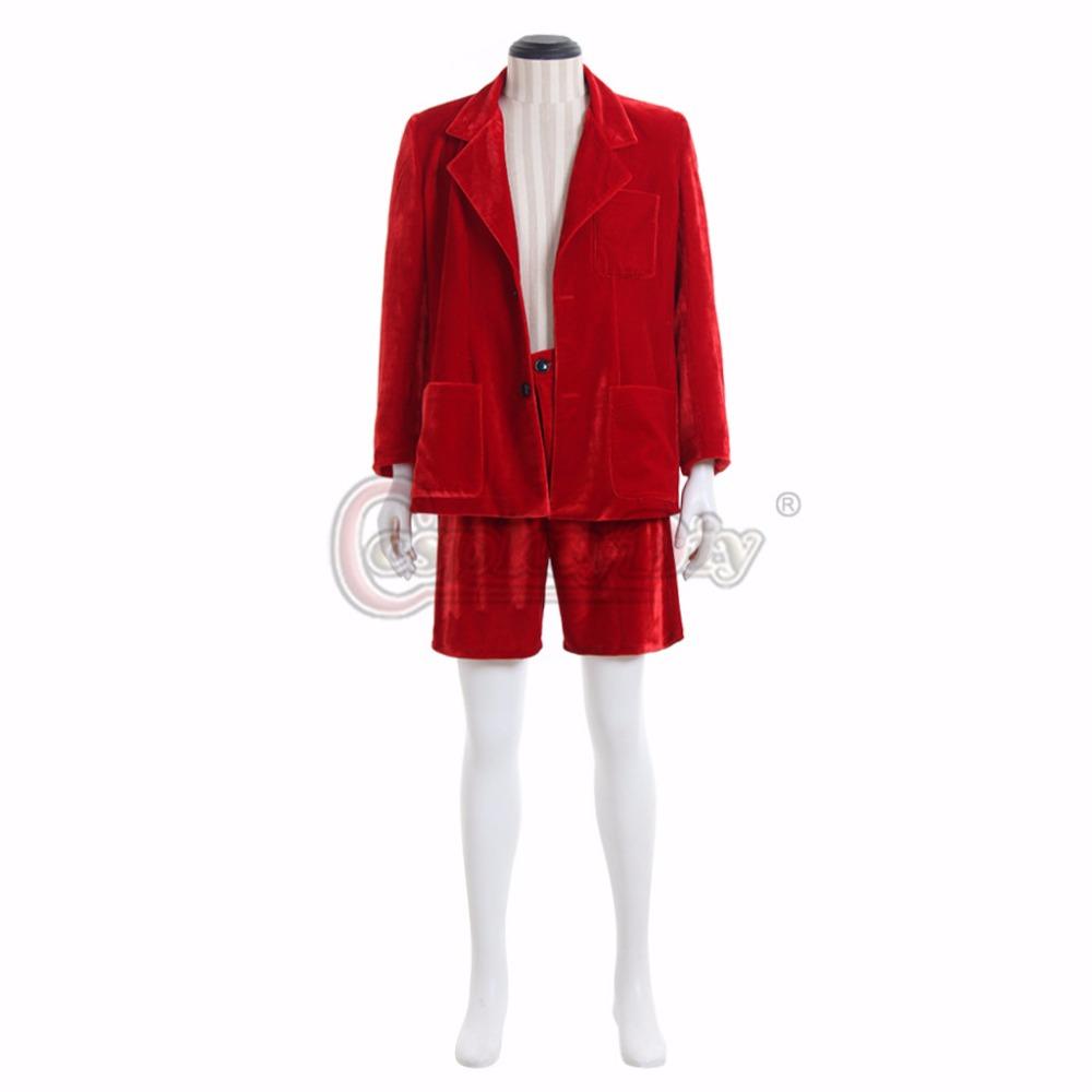 Band AC//DC Angus Young Cosplay Costume School Boy Uniform Men Blazer Suit