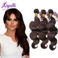 8A Malaysian Virgin Hair Extensions Human Hair Weave Bundles Malaysian Body Wave hair 3 Bundles #2 Dark Brown body wave hair