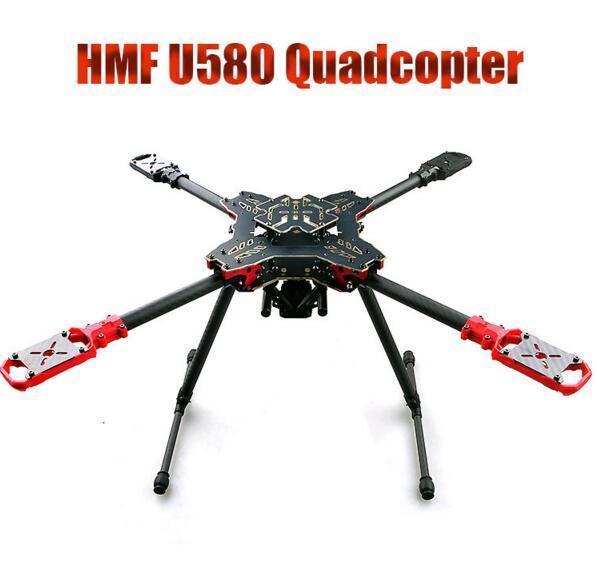 HMF Totem U580 4-Axis Umbrella Folding Quadcopter Frame Kit w/Landing Gear S800 large double layers folding umbrella windproof rain gear