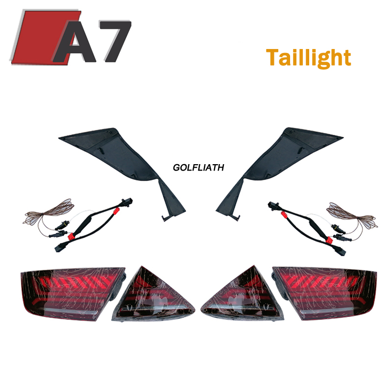 Car Styling for AUDI A7 LED taillight 2011 2012 2013 2014 2015 2016 2017 Rear Lamp Parking Brake Turn Signal Lights