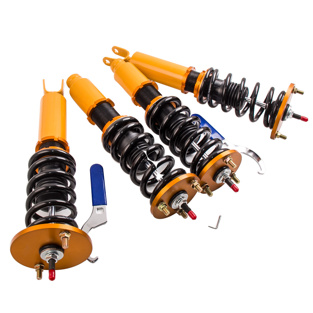 Damper Adjustable Coilover Kits For Honda Accord 90 97 Shock Absorbers Struts Coilovers Suspension 90 1991 1992 1993 1994 95 97