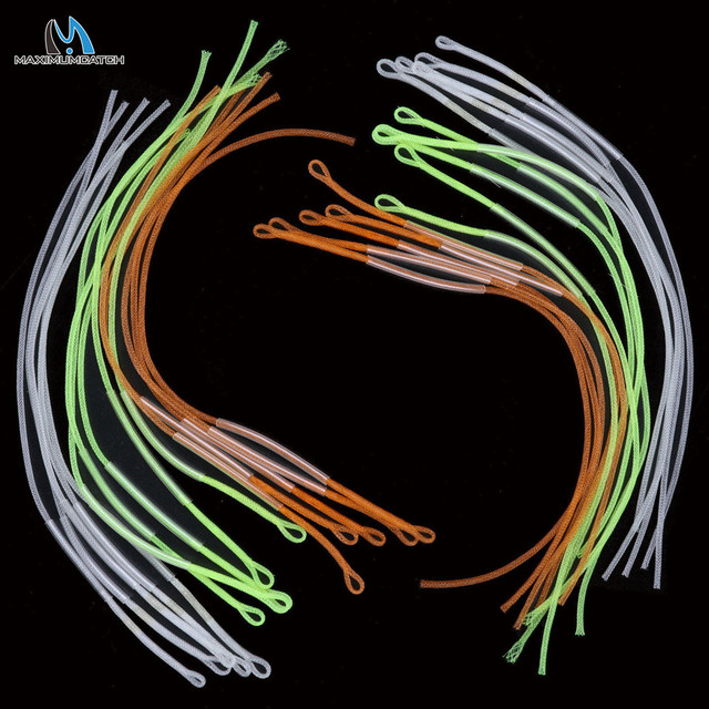 Maximumcatch Fly Fishing Line Loop Connector 30LB/50LB Fly Loop Line Connector Multi Color