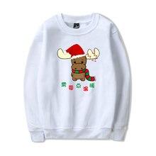 LUCKYFRIDAYF Fashion Kpop Warm-ing Christmas Cool Women Hoodies Sweatshirts Printed in  Women/Men clothes plus 4XL