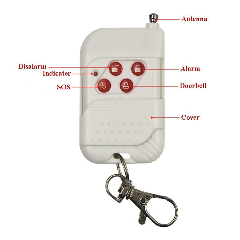 Anti Theft Vibration Shock Sensor Alarm Wireless Door Window Car Motorcycle House Safety Home Security Alarm System 11