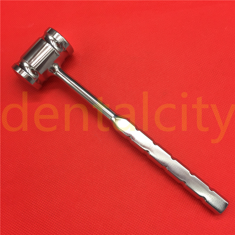 Stainless Steel 140 Grams Bone Mallet Veterinary Orthopedics Surgical Instruments 1pcs