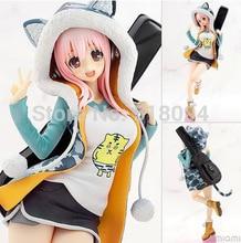 Anime Super Sonico Tora Parka Ver. PVC Action Figure Collectible Model Toy 8″ 20CM SGFG234