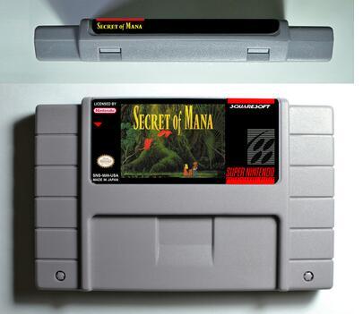 NTSC Cartuccia di Gioco pocky rocky Castlevania Vampire Bacio Super Castlevania IV Segreto di Mana 1 2 English US Version carta