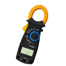 Digital Amper Clamp Meter Multimeter Current Clamp Pincers Voltmeter Ammeter 600A AC/DC Ohm Current Voltage Tester DT-3266L
