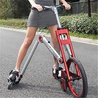 Nova marca segunda geração 3 roda de patinação bicicleta mantis carro criativo bicicleta adulto amortecimento scooter dobrável folding bicycle folding bicycle brands bicycle brands -