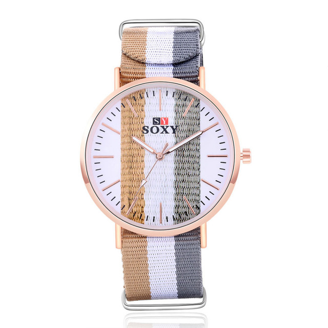 2018 Fashion Wrist Watch as Roma SOXY Luxury Brand Male Quartz Watch Sale Items Boys Designer Simple Skeleton Watches Men