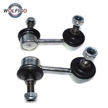 WOLFIGO передний левый правый Наклонный стержень стабилизатор звено Подвески стабилизатор штанги стойки для Honda Civic 51321-SNA-A02 51320-SNA-A02
