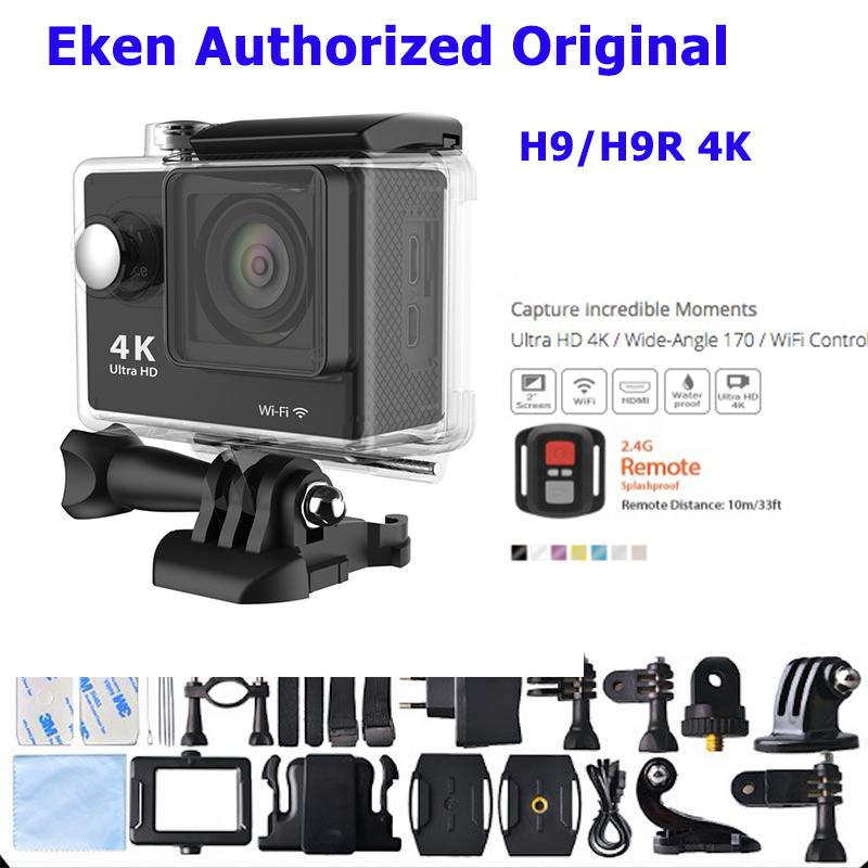 Prix pour D'origine Eken H9/H9R ultra hd 4 k d'action caméra 25FPS WIFI Étanche Sport Action Caméra Caméscope