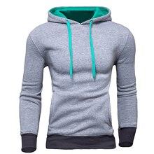 Neue Marke Sweatshirt Männer Hoodies Fashion Solid Fleece Hoodie Herren Hip Hop Anzug Pullover männer Trainingsanzüge Moleton Masculino