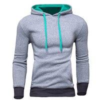 New Brand Sweatshirt Men Hoodies Fashion Solid Fleece Hoodie Mens Sports Suit Pullover Men S Tracksuits