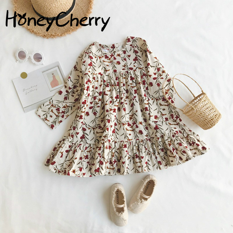2009   Girl     dress     Flower   Slim Corduroy   Dress   Baby Korean   Flower     Girl     Dresses   Baby   Girl   Clothes