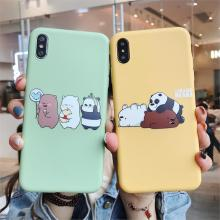 We BARE BEARS Case For OPPO A3 A5 A3S A39 A57 A59 A79 A83 A7X F9 F1S F