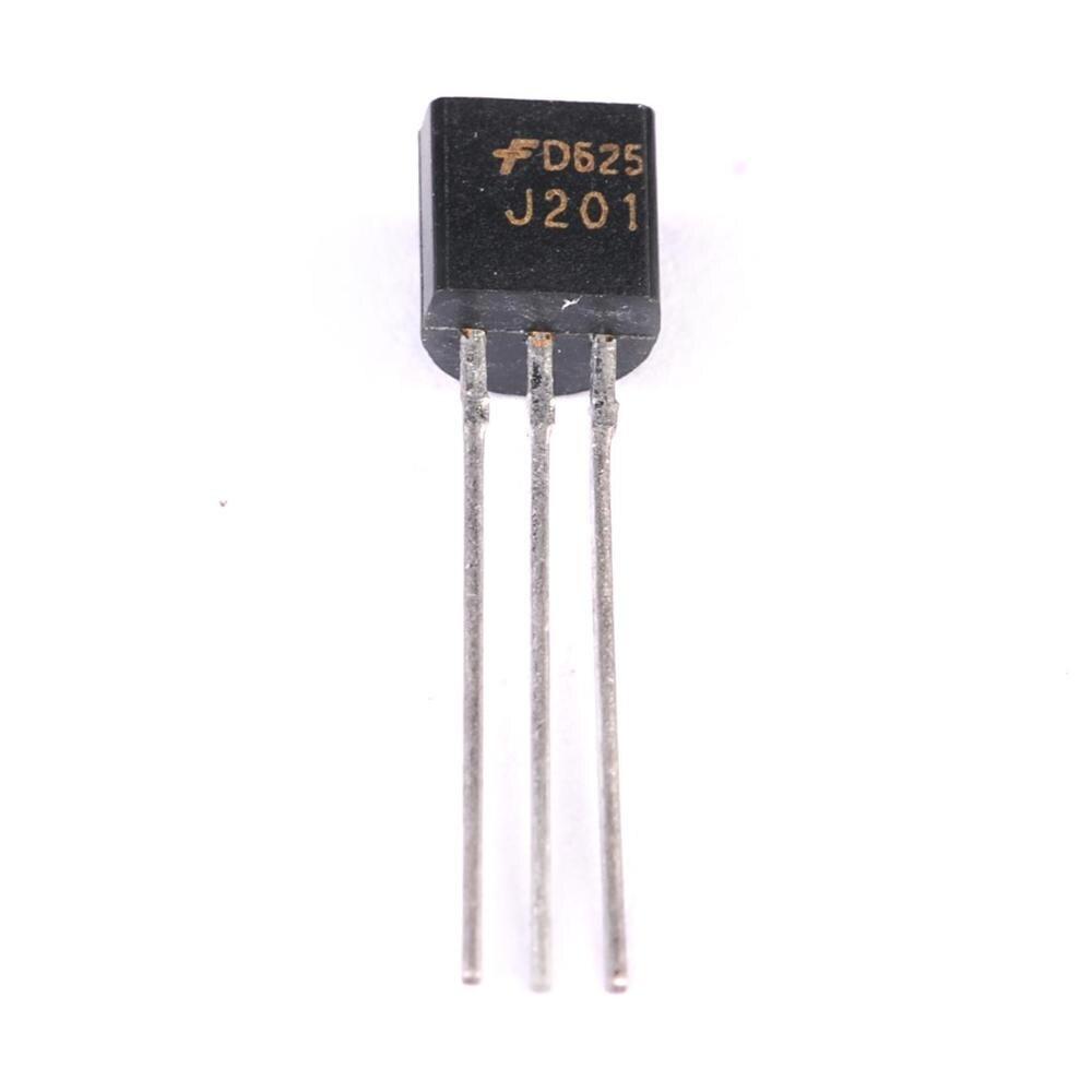 20PCS J201 JFET N-Channel Transistor 50mA 40V TO-92