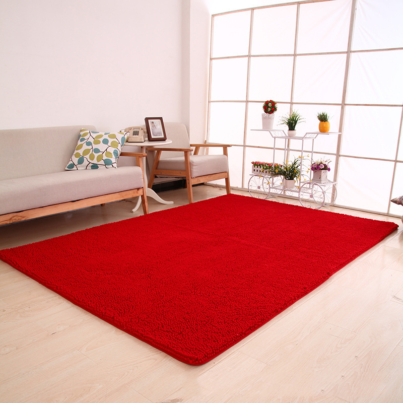 70x180cm 28quotx71quot Chenille Microfiber Area Rug For Living Room Modern Soft Touch