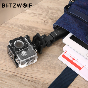 Image 5 - BlitzWolf BW BS3 Sport bluetooth Selfie Stick Extendable Foldable Wireless Monopod Tripod for Gopro 8 7 6 Osmo Action For Xiaomi