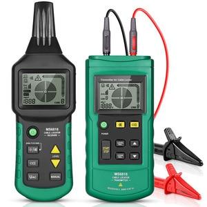 Image 1 - MS6818 Draht Tracker Test Kabel Netzwerk Tragbare Telefon Kabel Locator Unterirdischen Rohr Detektor Kabel Toner Finder