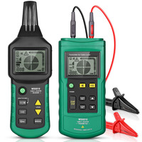 MS6818 Wire Tracker Test Cable Network Portable Telephone Cable Locator Underground Pipe Detector Cable Toner Finder