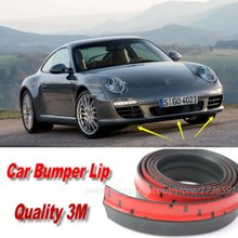 Car Bumper Lips For Porsche 911 GT GT1 GT2 GT3 912 959 Carrera / Front Lip Deflector Lips Skirt Body Kit Chassis Side Protection