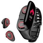 <+>  Умные часы с наушниками Bluetooth Спортивные часы-вкладыши Heart Rate Long Time Браслет Наушники Нау ✔