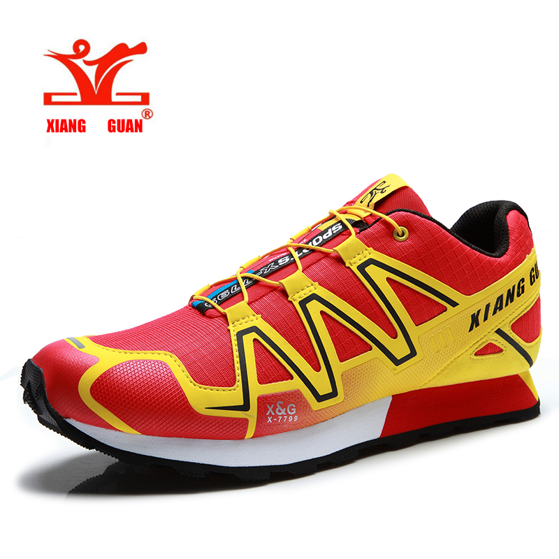 Trail Running Shoes For Men  Sport Shoes Cross Country Outdoor Sneakers Zapatillas Hombre Non-slip Boys Jogging Shoes mulinsen men s running shoes blue black red gray outdoor running sport shoes breathable non slip sport sneakers 270235