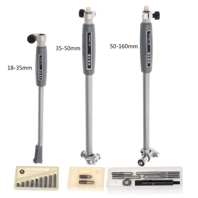 Aletler'ten Mikrometreler'de OOTDTY iç çapı göstergesi ölçme çubuğu + prob (hiçbir gösterge) aksesuarları title=