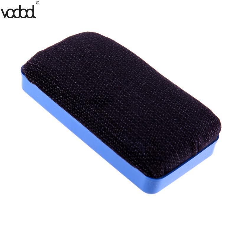 11x5x2.5cm Blue Flannel Magnetic Whiteboard Eraser Office Plastic Marker Cleaner Eraser For Office School Stationery Supplies