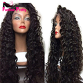 Glueless Kinky Curly Full Lace Wig Brazilian Virgin Hair Curly Lace Front Wigs For Black Women Kinky Curly Human Hair wigs