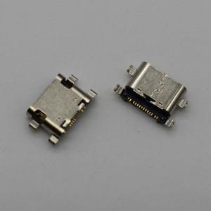 Mini type C micro usb jack socket connector charging port dock plug for ZTE C2016 W2016 ZMAX Pro Z981