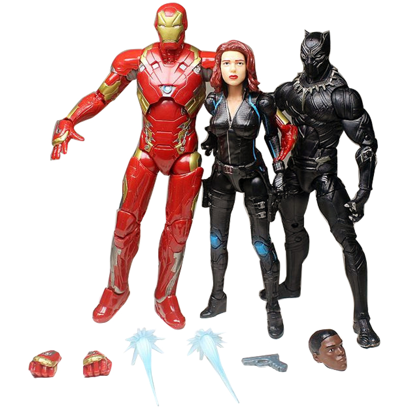 6''marvel-action-figure-black-panthers-and-black-widow-iron-man-anime-toy-civil-war-super-hero-pvc-doll-gifts-the-font-b-avengers-b-font-gift