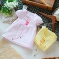 Frete grátis varejo novo 2014 primavera outono moda camisola de malha sem mangas vest princesa menina