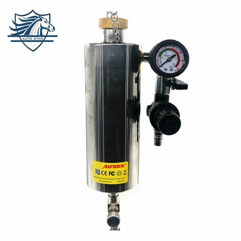 где купить Original AUTOOL C100 Auto Injector Cleaner Non-Dismantle Fuel Injector Cleaner Car Fuel Injector Tester Fuel Injector Washing дешево