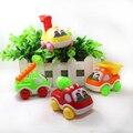 Tire hacia Atrás juguete tire hacia atrás juguete vehículos de Construcción de Juguetes de Los Niños del bebé Mini truck envío gratis