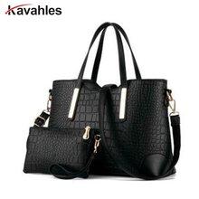 2017 women handbag leather hand bag michael crocodile crossbody bag shoulder messenger bags clutch tote purse