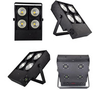 2X 400W LED COB Lights 4x100W Blinder Light 4eye COB LED Wash Light High Power Dj