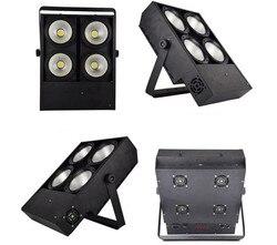 2X400 W LED COB światła 4x100W oślepiające światło 4eye COB LED mycia światła wysokiej mocy oświetlenie dj DMX etap szybka wysyłka
