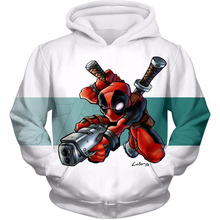 Deadpool 3D Hoodie Men Funny Hoodies Superhero Cosplay Sweatshirt Marvel Streetwear Avengers Hooded Outwear Drop Shipping S-5XL
